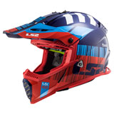LS2 Gate Xcode Helmet Red/Blue