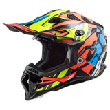 LS2 Subverter Evo Helmet Rascal - Black/Orange/Blue