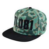 Troy Lee Louder Camo Adjustable Hat