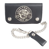 "Lucky 13 Black Sin 6"" Bi-Fold Wallet"