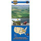 Madmaps Scenic Road Trips of Ohio, Kentucky and West Virginia