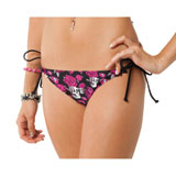 Metal Mulisha Cutie Pie Ladies Skimpy Side Tie Bikini Bottom
