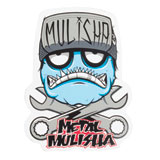 Metal Mulisha Wrench Head Sticker
