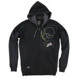 Metal Mulisha Braille Zip-Up Hooded Sweatshirt
