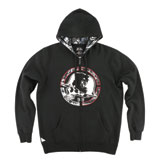 Metal Mulisha Case Zip-Up Hooded Sweatshirt