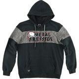 Metal Mulisha Krew Killer Custom Zip-Up Hooded Sweatshirt
