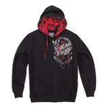 Metal Mulisha Tommy Gun Zip-Up Hooded Sweatshirt