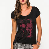 Metal Mulisha Death Trip Ladies T-Shirt