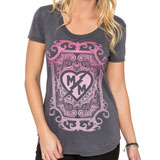 Metal Mulisha Poison Ladies Scoop-Neck T-Shirt