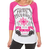 Metal Mulisha Ticket Ladies Raglan T-Shirt