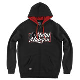 Metal Mulisha Clip Zip-Up Hooded Sweatshirt