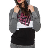 Metal Mulisha Beaming Ladies Zip-Up Hooded Sweatshirt