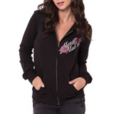 Metal Mulisha Ditto Ladies Zip-Up Hooded Sweatshirt