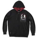 Metal Mulisha Loud Custom Zip-Up Hooded Sweatshirt