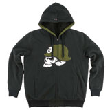 Metal Mulisha Reload Sherpa Lined Zip-Up Hooded Sweatshirt