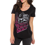 Metal Mulisha Corey Ladies Scoop-Neck T-Shirt