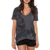 Metal Mulisha Secret Garden Ladies V-Neck T-Shirt