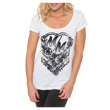 Metal Mulisha Waterheart Ladies Scoop-Neck T-Shirt