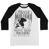 Metal Mulisha Grain 3/4 Sleeve Raglan T-Shirt