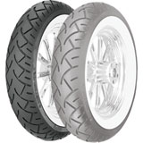 Metzeler ME880 Wide White Sidewall Front Motorcycle Tire