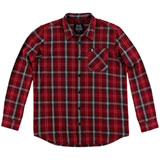 Metal Mulisha Bank Long Sleeve Flannel Button Up Shirt