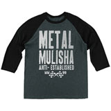 Metal Mulisha First 3/4 Sleeve Raglan T-Shirt