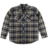 Metal Mulisha Misdemeanor Long Sleeve Flannel Button Up Shirt