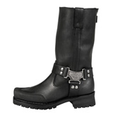MMCC Drag Harness Motorcycle Boots Black