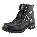 MMCC Road Captain Motorcycle Boots Black