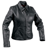 MMCC Electra Ladies Leather Motorcycle Jacket