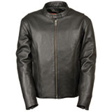 Milwaukee Leather Classic Scooter Leather Motorcycle Jacket