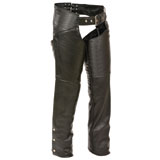 Milwaukee Leather Classic Low Rise Ladies Motorcycle Chaps
