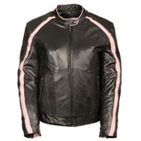 Milwaukee Leather Wings Ladies Leather Motorcycle Jacket