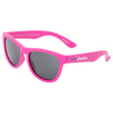 Minishades Youth Classic Sunglasses - Ages 3-7+ Hot Pink Frame/Grey Polarized Lens