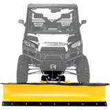 "Moose Racing RM4 Rapid Mount Standard Straight Blade Plow Kit, Winch Equipped UTV, 72"" Blade"