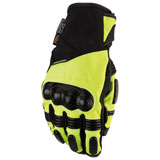 Moose Racing ADV1 Short Gloves Black/Hi-Viz