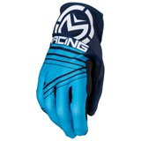 Moose Racing MX2 Gloves 2019 Blue/Cyan