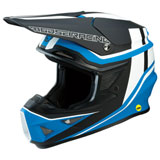 Moose Racing F.I. Session MIPS Helmet Black/Blue