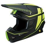 Moose Racing F.I. Session MIPS Helmet Black/Hi-Viz