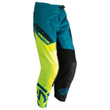 Moose Racing Qualifier Pants 2019 Teal/Hi-Viz