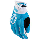 Moose Racing MX1 Gloves Blue