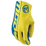 Moose Racing MX2 Gloves Blue/Yellow