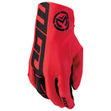 Moose Racing MX2 Gloves Red