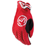 Moose Racing SX1 Gloves Red