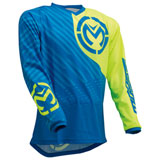 Moose Racing Qualifier Jersey Blue/Hi Viz
