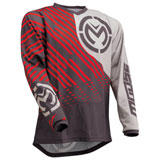 Moose Racing Qualifier Jersey Charcoal/Grey/Red