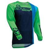 Moose Racing Sahara Jersey Navy/Green