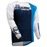 Moose Racing Sahara Jersey Navy/White