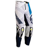 Moose Racing Sahara Pants White/Navy/Yellow