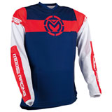 Moose Racing Qualifier Jersey Red/White/Blue